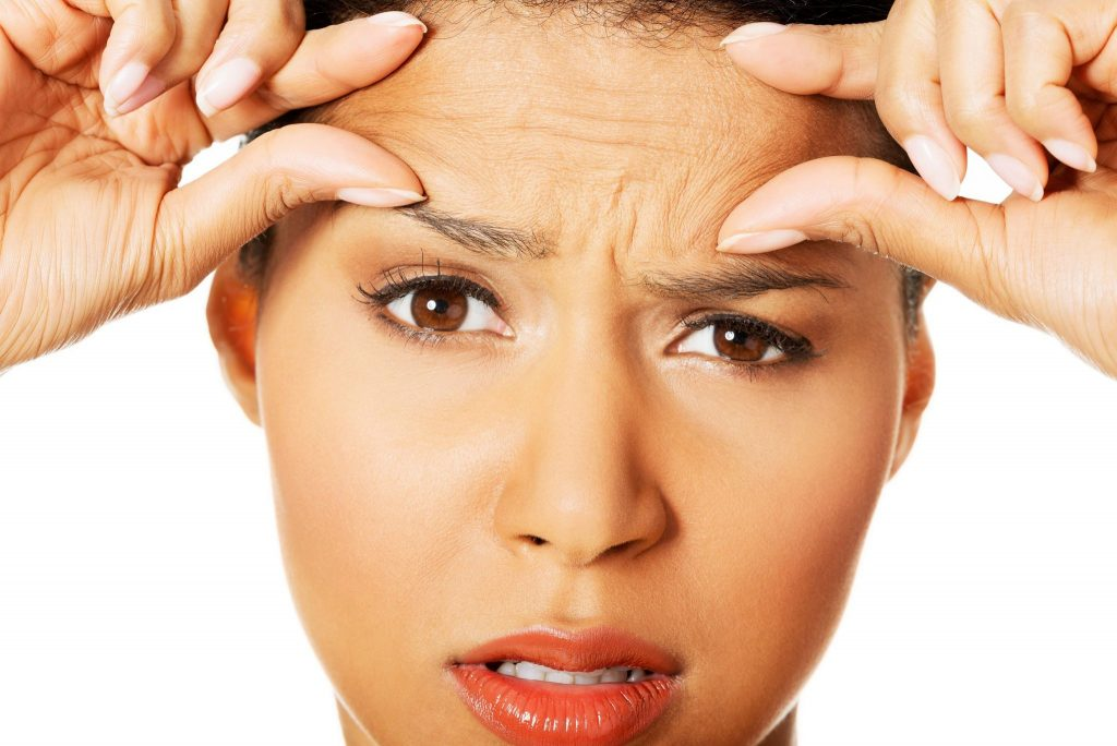 how to get rid of forehead wrinkles
